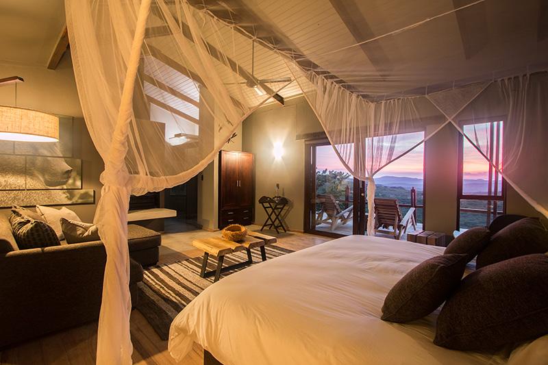 Dreamy Bush Villa bedroom - photograph by Guy Upfold.