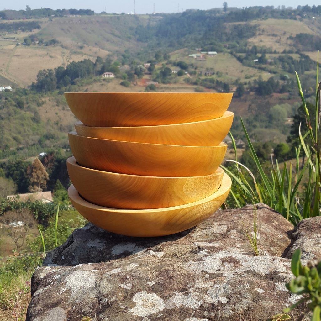 Ashley Viljoen wooden bowls