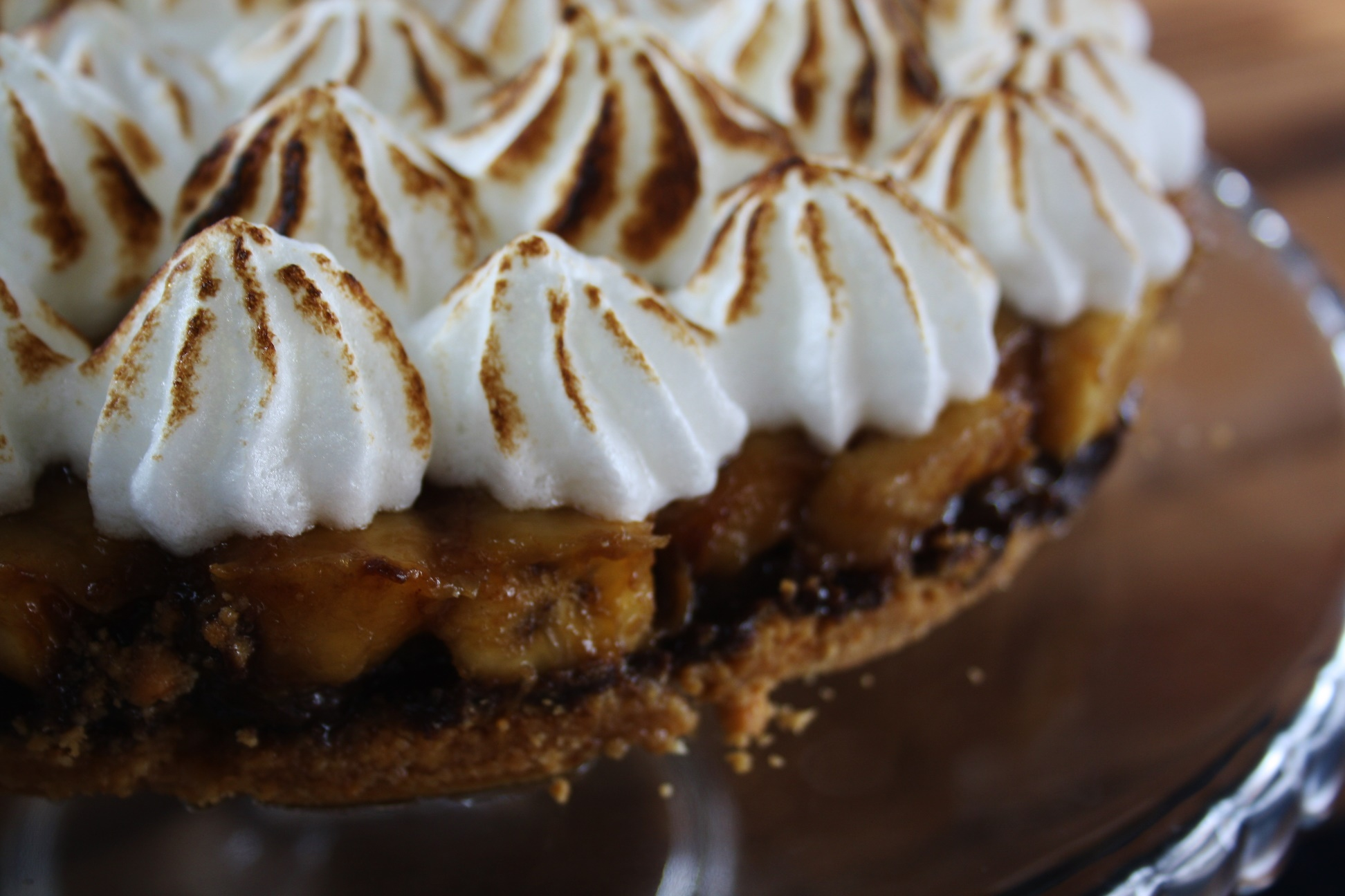 Jarred's Banoffee Pie will pull you away from the view