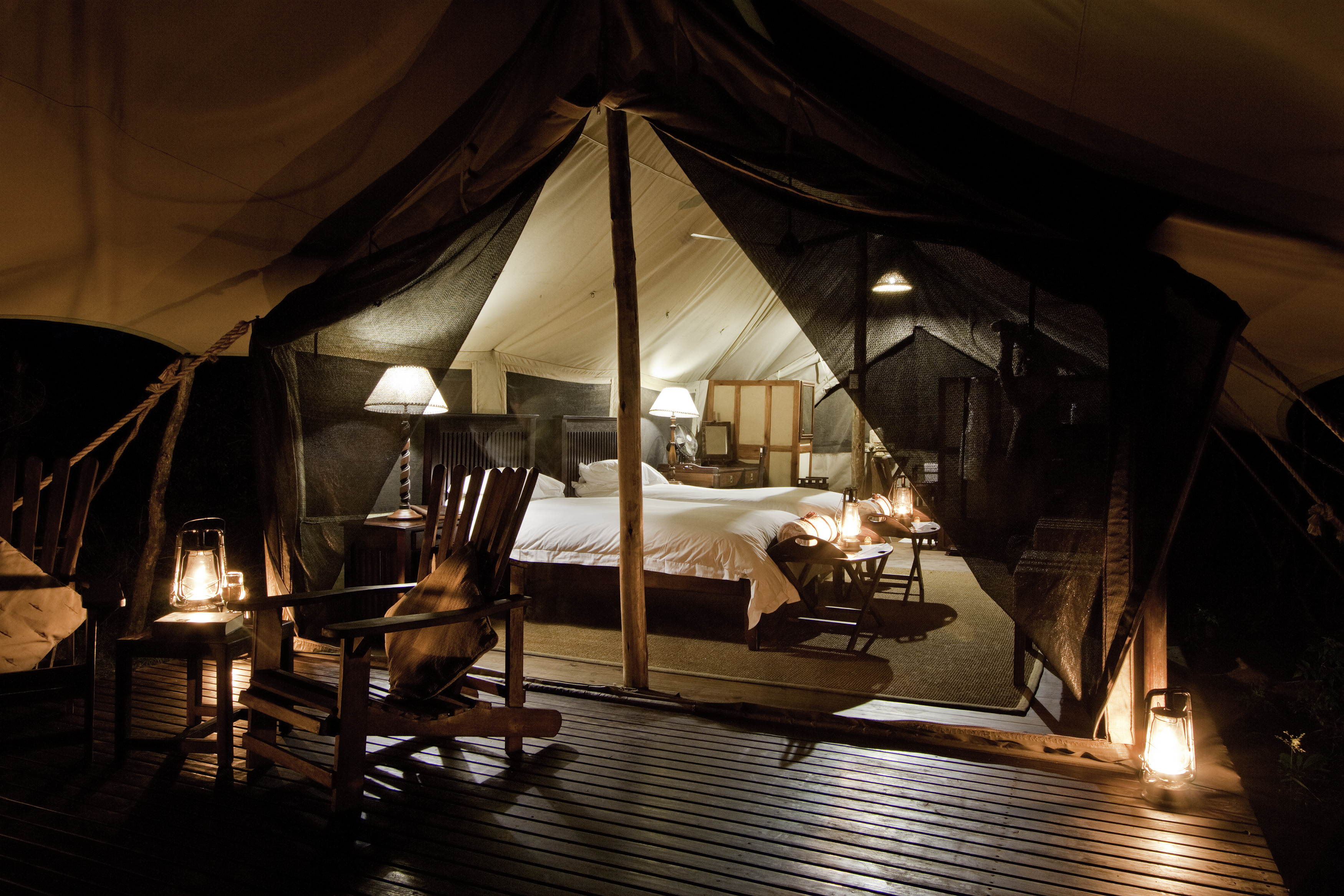 One for the bucket list - sleeping under canvas in an 1820's style explorer tent in the Kruger National Park