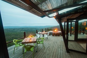 Luxury Safari Lodge Hluhluwe Accommodation Deck Area