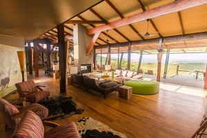 Luxury Safari Lodge Hluhluwe Accommodation Main Lounge