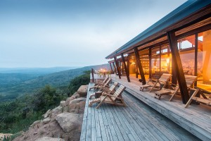 Luxury Safari Lodge Hluhluwe Accommodation Main Deck