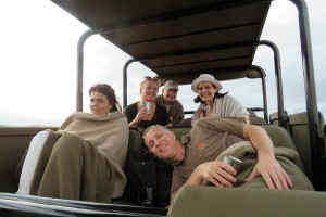 Luxury Safari Lodge Game Drive