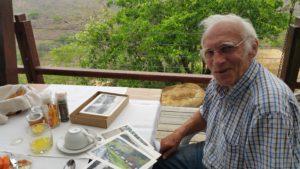 Guest at Rhino Ridge Safari Lodge, Herbert Bednarik