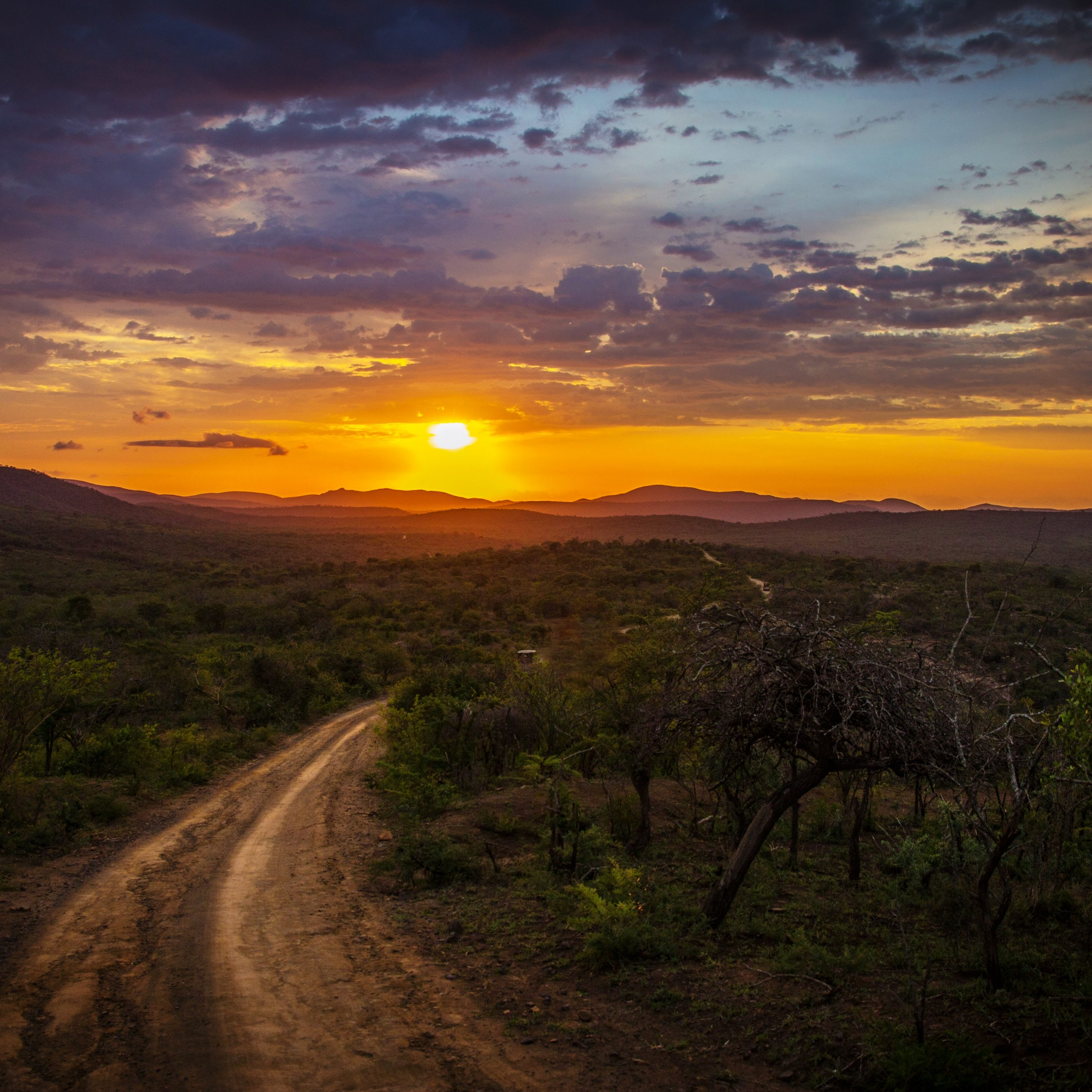 Hluhluwe Sunset
